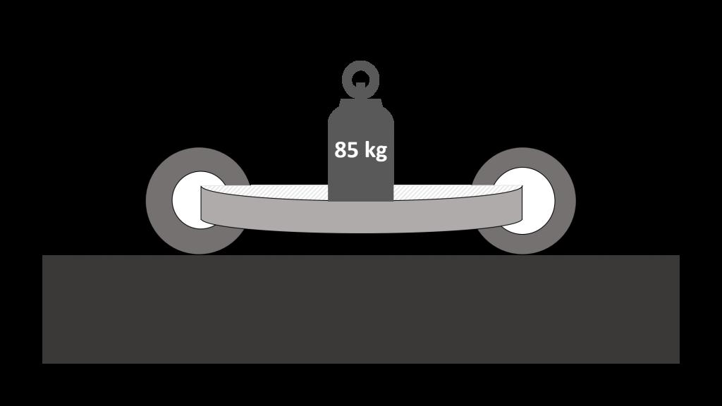 grand empattement moto flexion avec poids