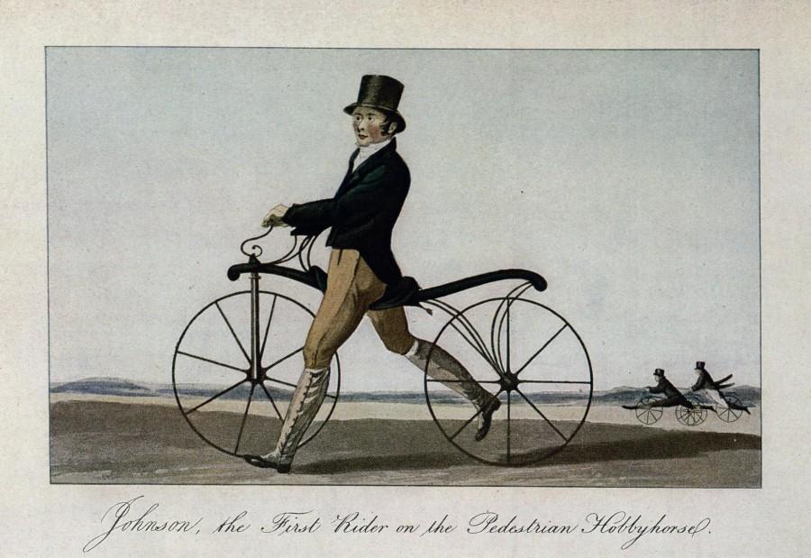 draisienne ancètre vélo