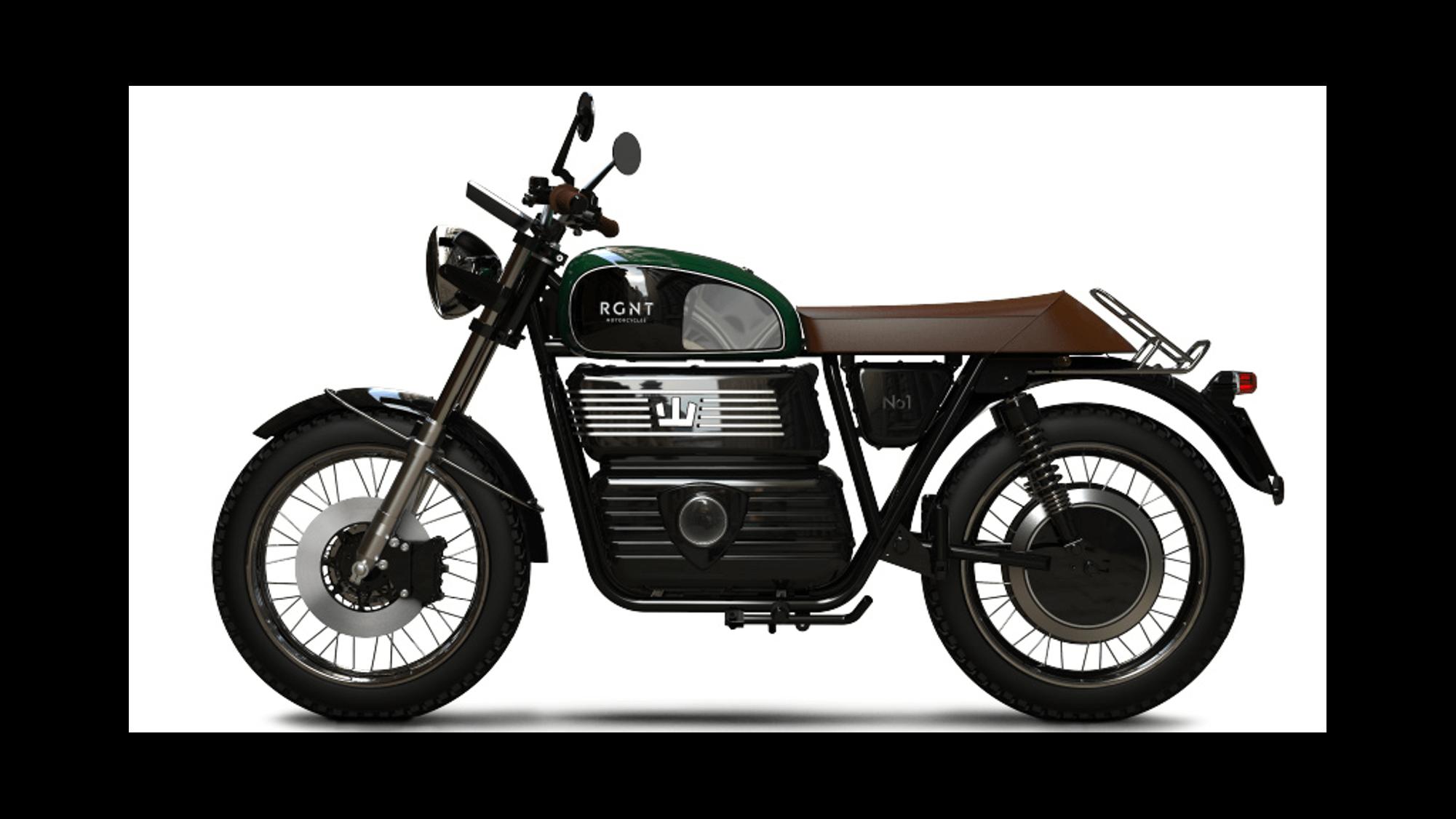 RGNT no 1 moto électrique 125
