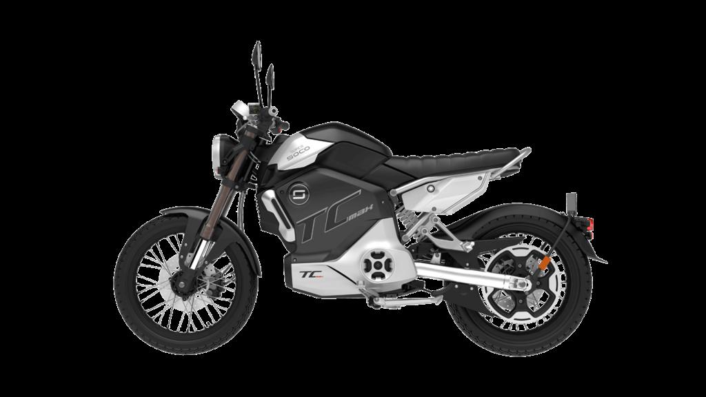Super Soco TC Max 2020 moto électrique 125