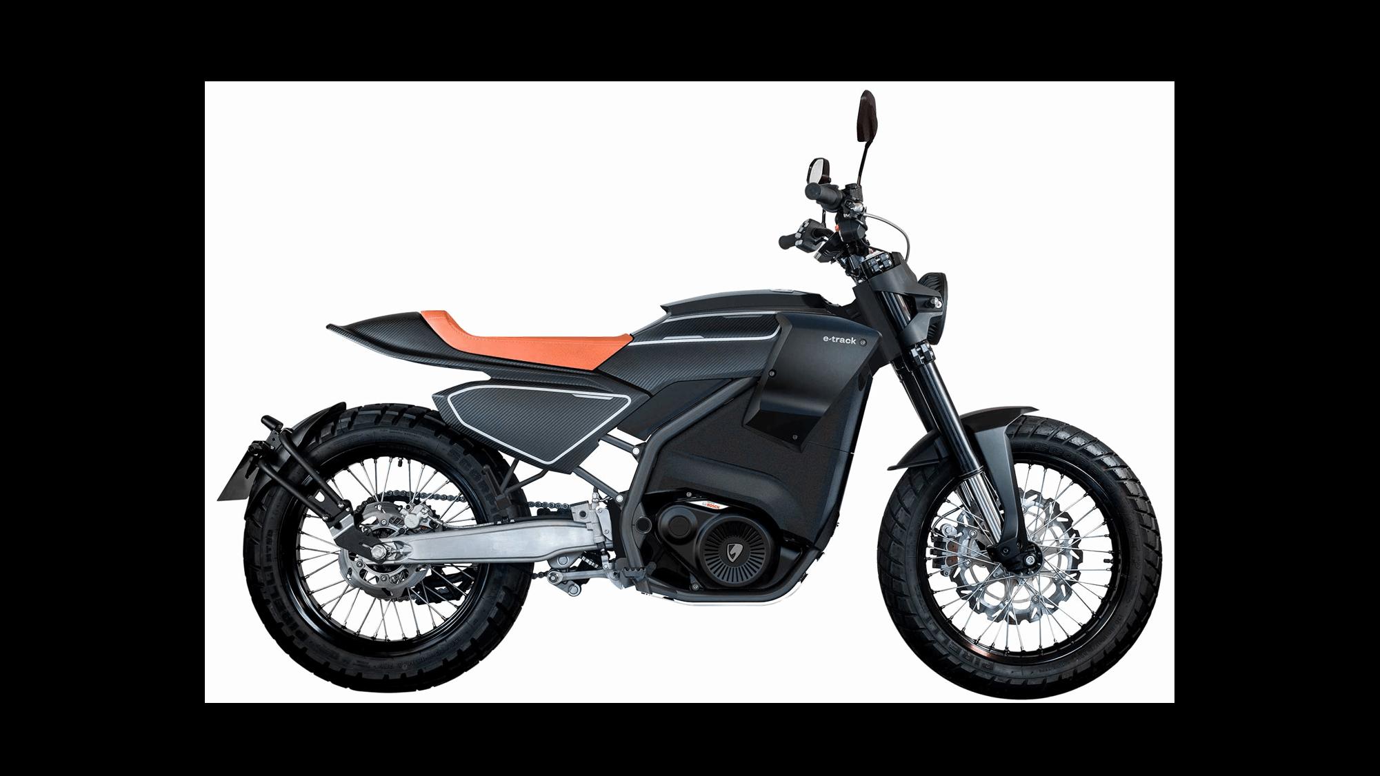 Pursang e track moto électrique 125