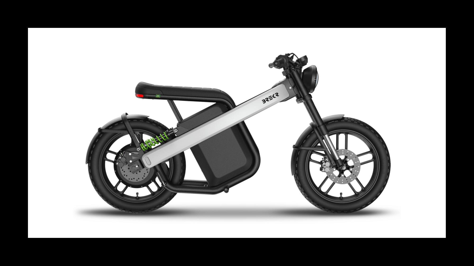B4000 de Brekr moto électrique 50cc