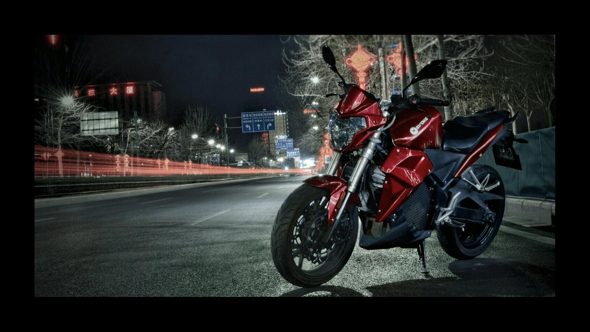 Urban S Evoke Motorcycles