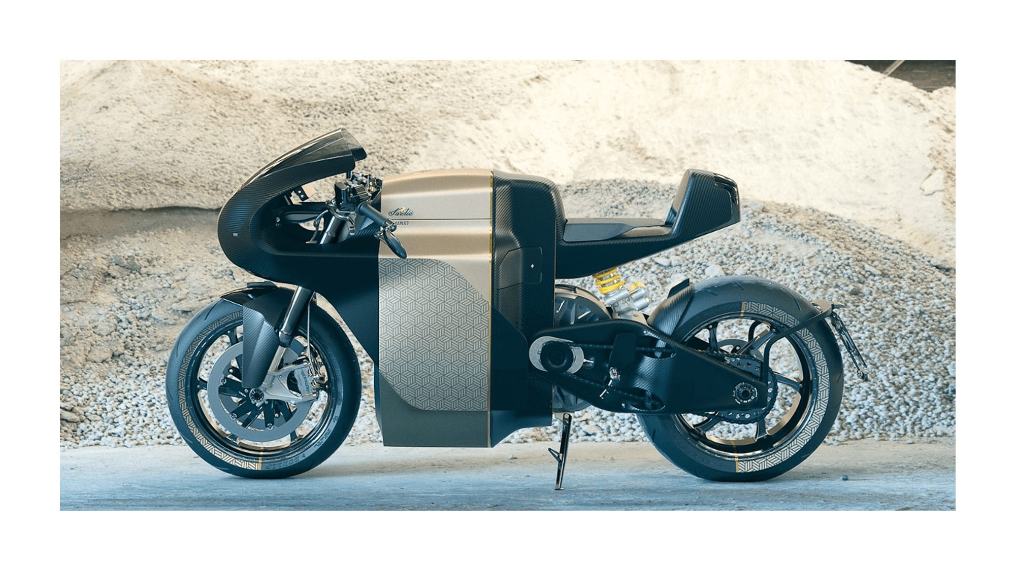 MANX7 Sarolea Motorcycles moto électrique puissante