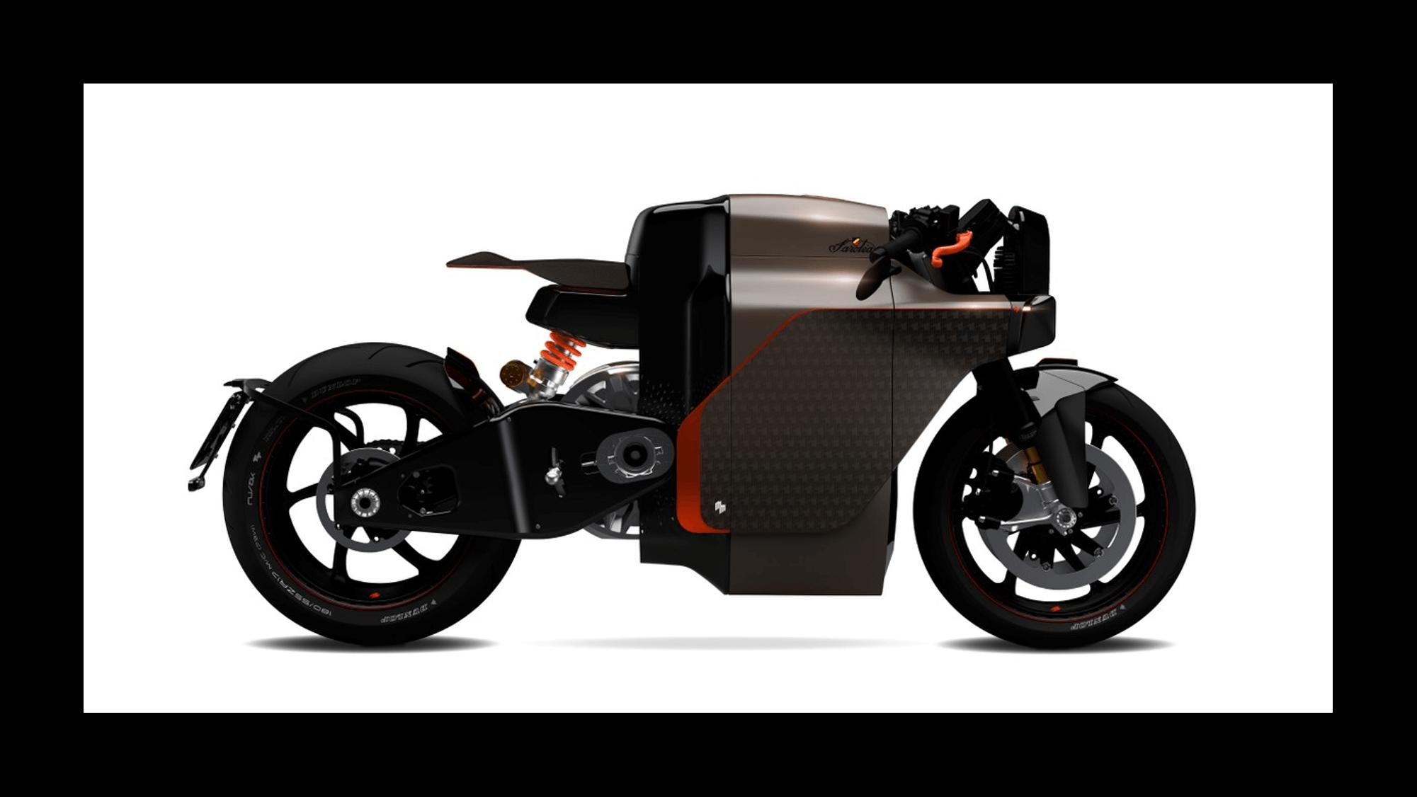 N60 Sarolea Motorcycles moto électrique puissante