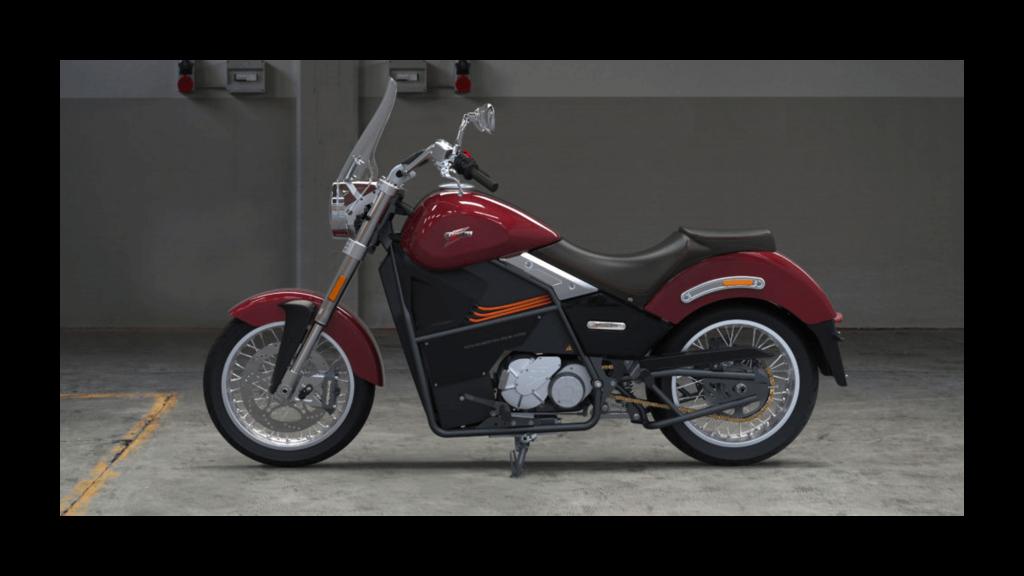 T-Cruise Turismo Tacita moto électrique puissante