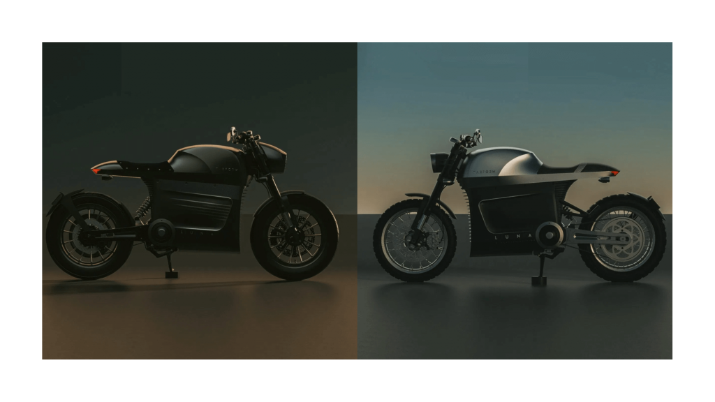 Luna Tarform moto électrique puissante