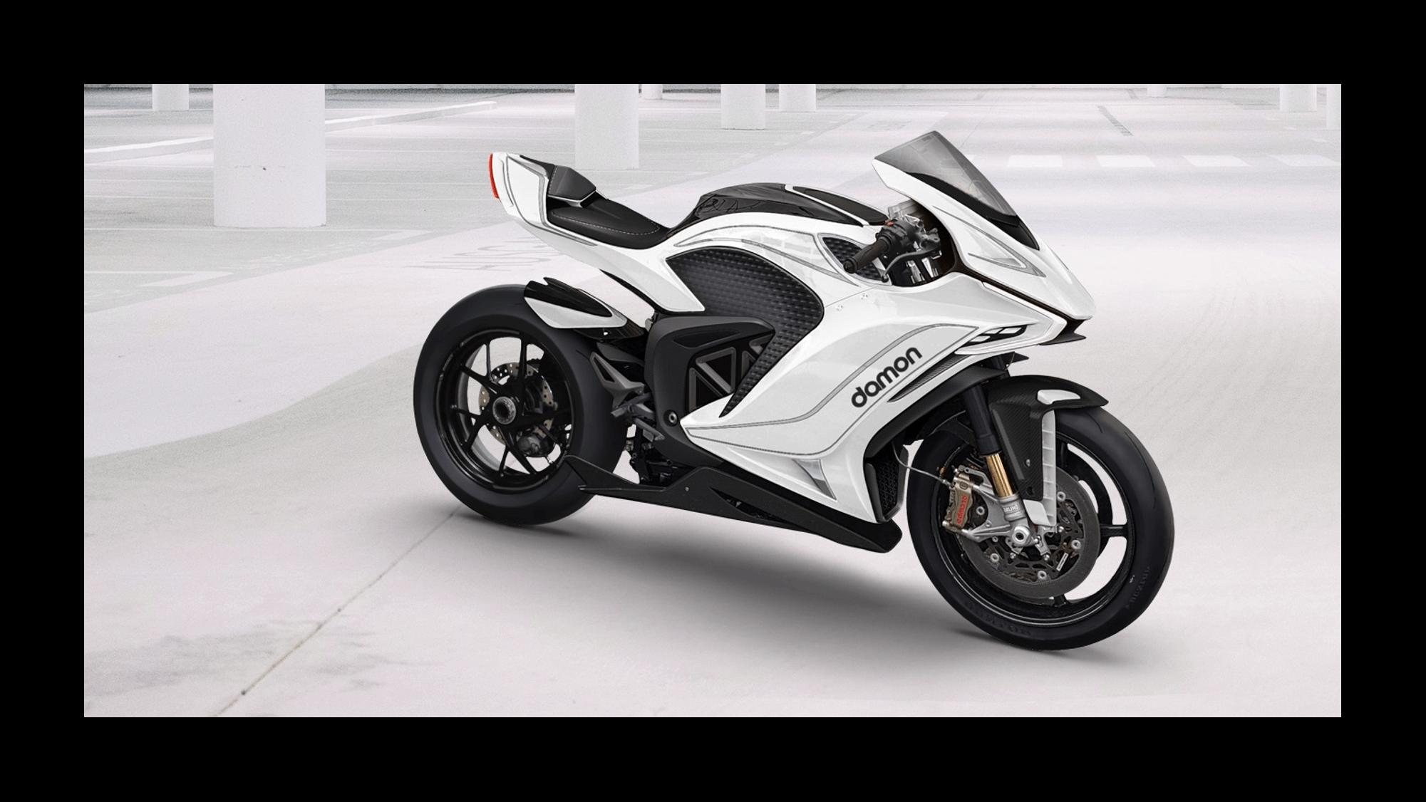 Hypersport Premier Damon Motorcycles moto électrique puissante
