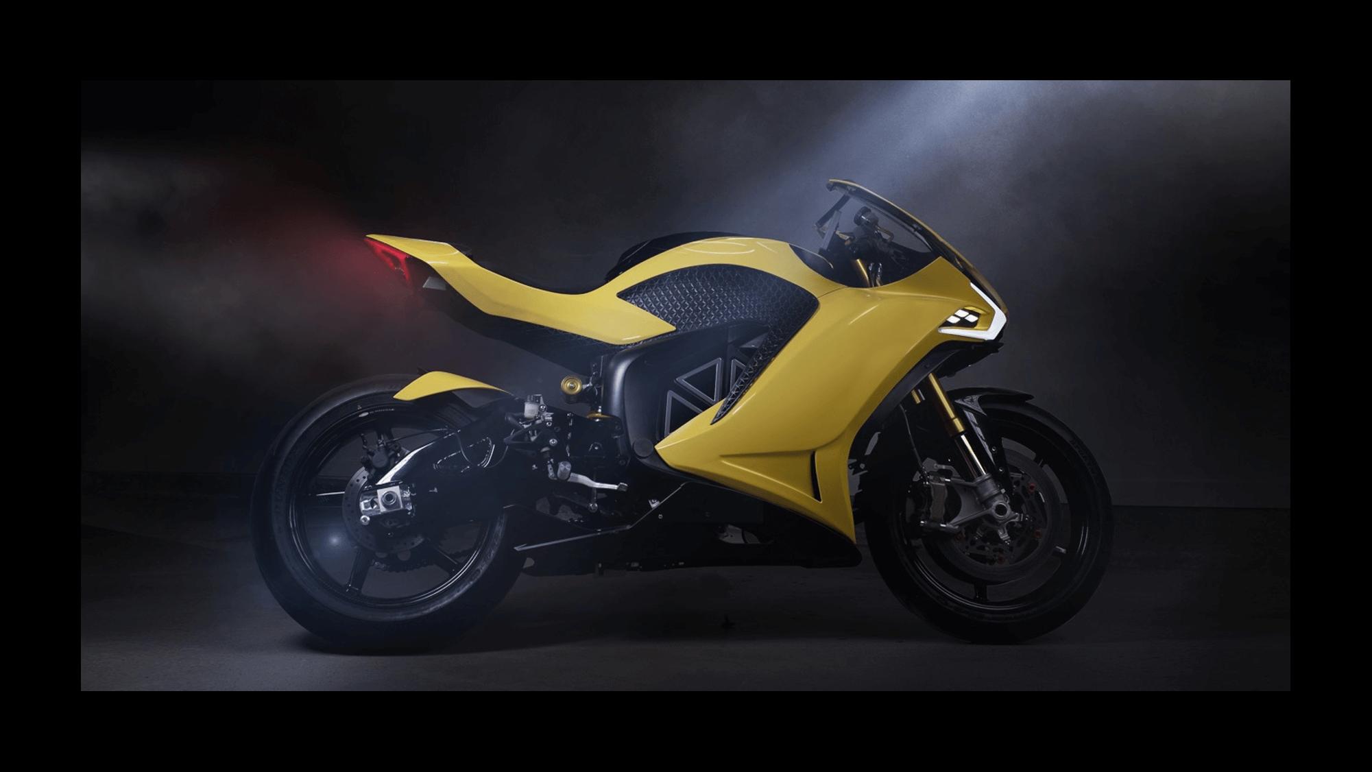 Hypersport HS Damon Motorcycles moto électrique puissante