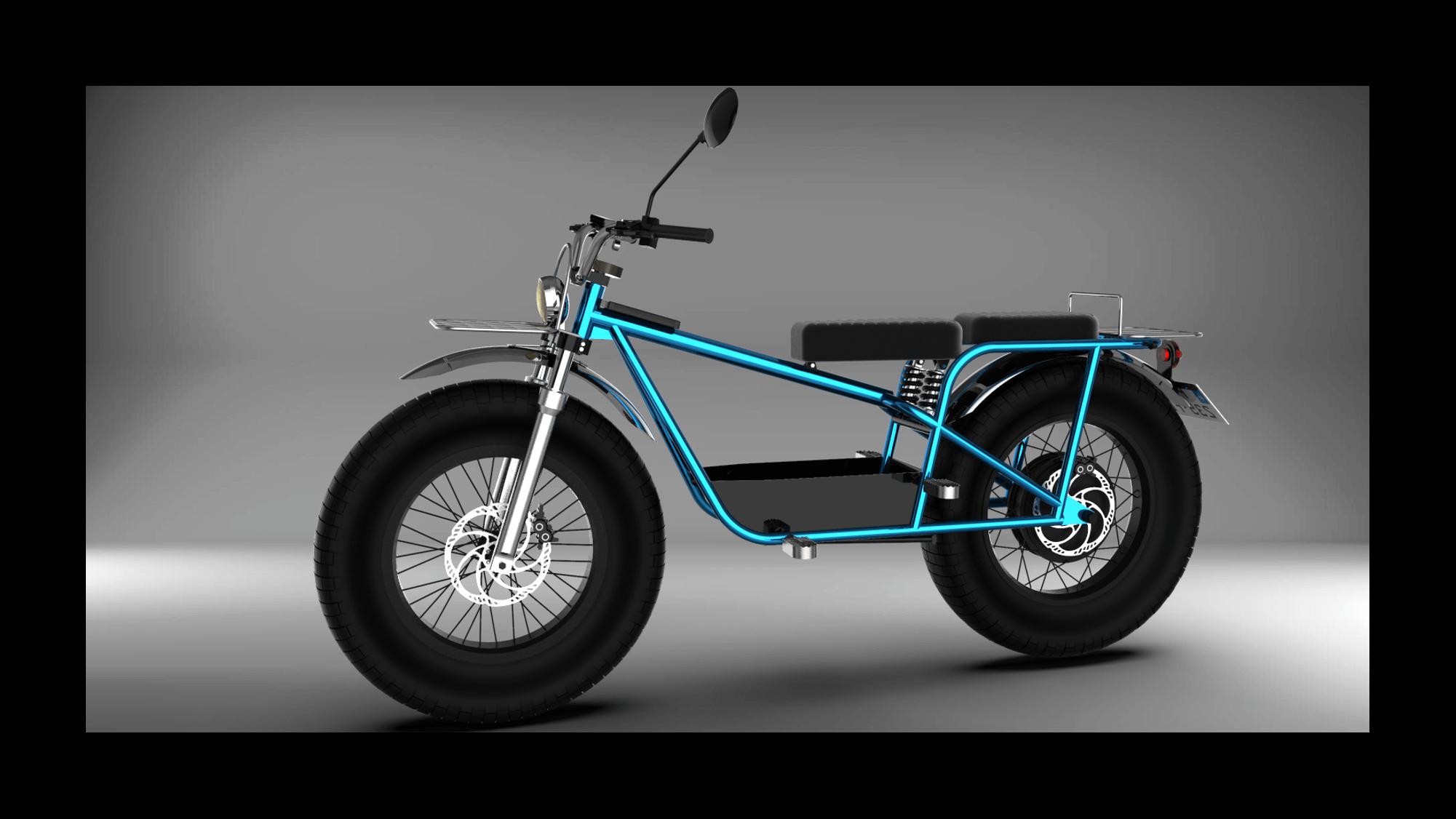 Xubaka de Sodium Cycles moto électrique 50cc