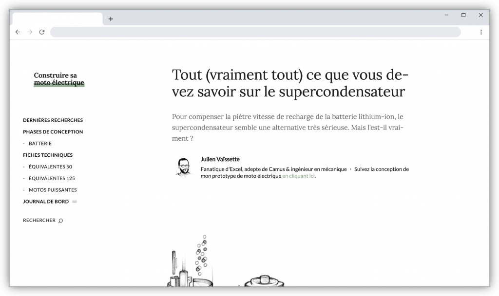 supercondensateurs screenshot