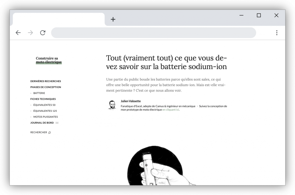 article batterie sodium ion julien vaissette