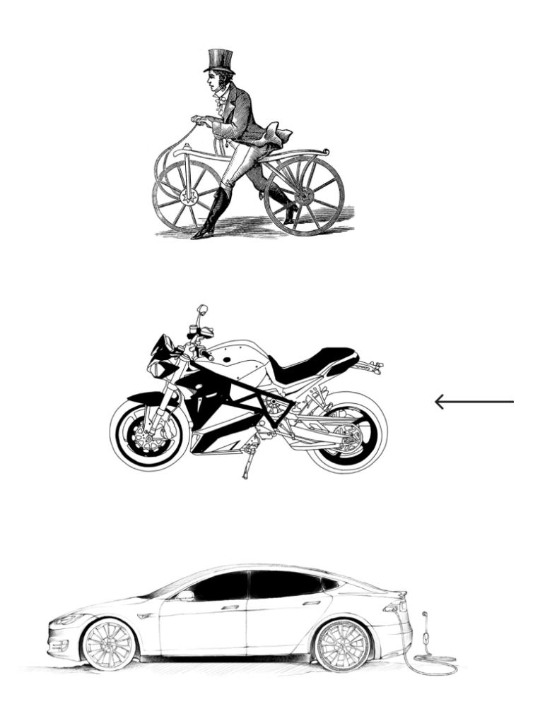 moyen de transport retrofit © jean charles barbe